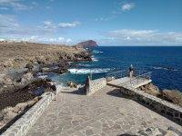 Смотровая площадка в Лос-Абригос на Тенерифе (Канарские острова, Испания)
