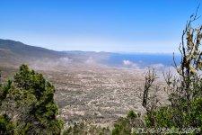 Вид на город Гуимар - 1000 Окон Гуимара на Тенерифе
