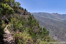 Пешая тропа - 1000 Окон Гуимара на Тенерифе