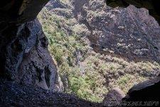 Вид из окна в горе - 1000 Окон Гуимара на Тенерифе