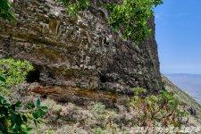 Туннель с окнами выдолбленных в горе - 1000 Окон Гуимара на Тенерифе
