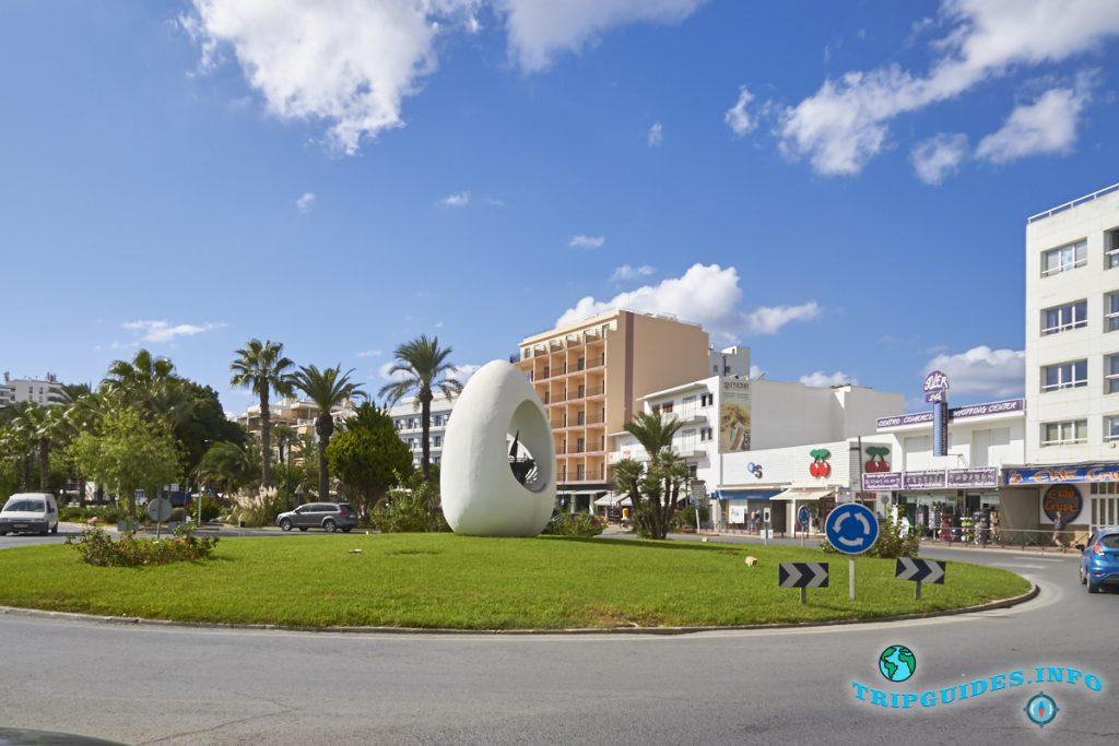 «Колумбово яйцо» в Сан-Антонио на Ибице