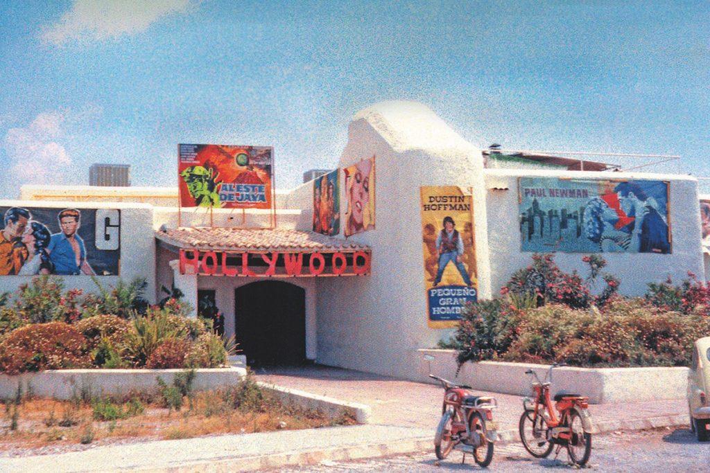 клуб Пача на Ибице в прошлом