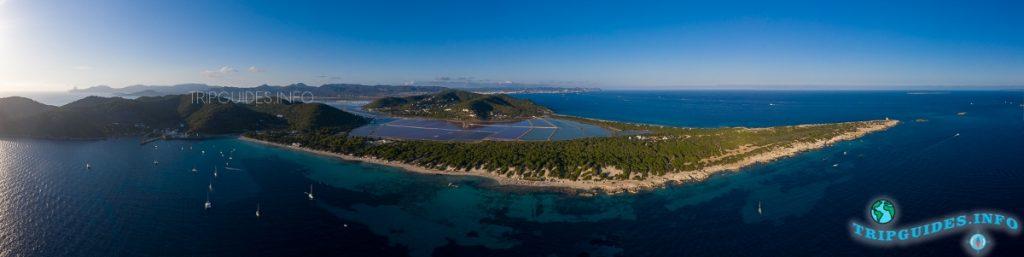 Пляжи Сес Салинес на Ибице