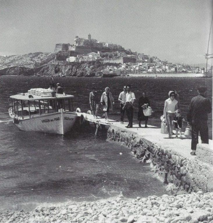 Старинные фотографии города Дальт Вила на Ибице