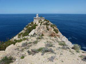 Заброшенный маяк Faro de Punta Grossa - Ибица, Балеарские острова, Испания
