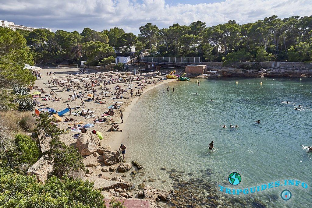 Пляж Кала Грасио на Ибице / Ивиса