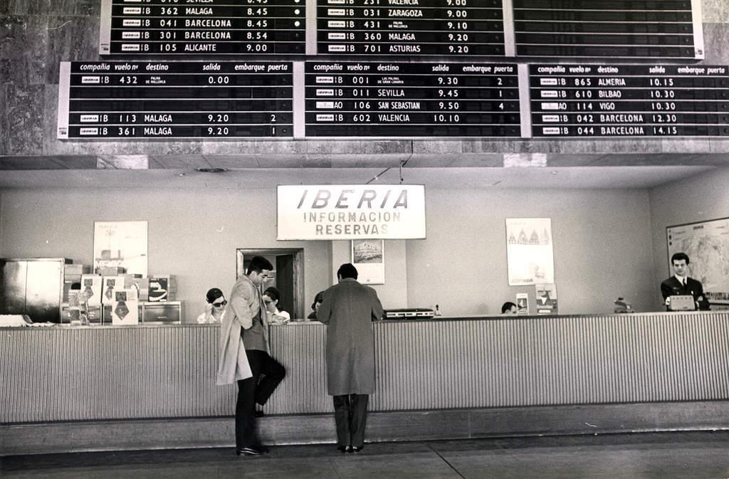 Аэропорт Мадрида - Барахас 1