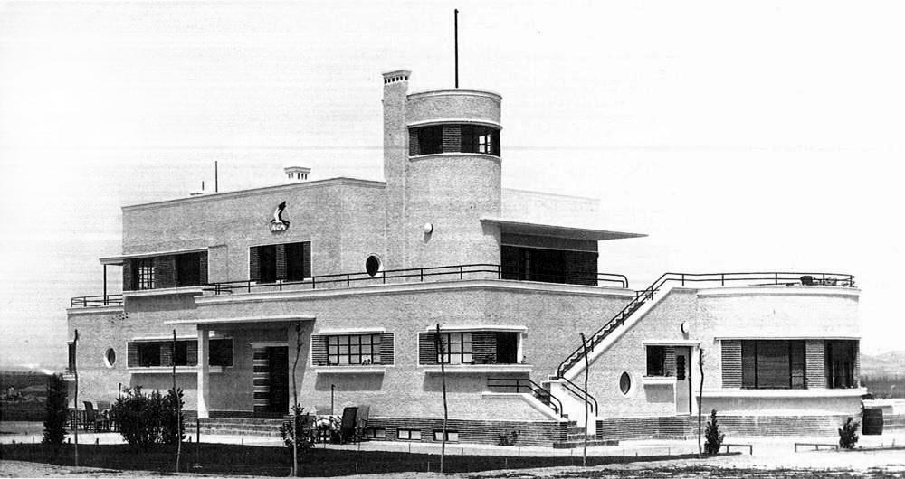 История аэропорта Мадрид Барахас - фотография 1931 год
