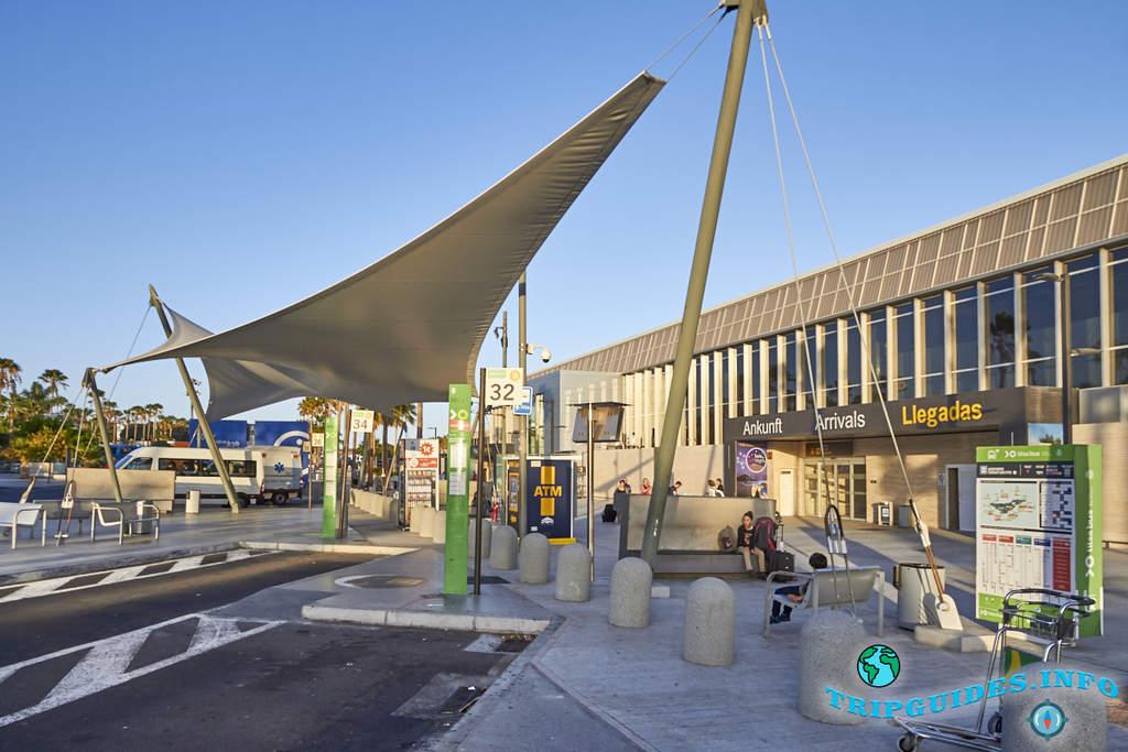 Аэропорт Южный-Тенерифе (TFS) 1