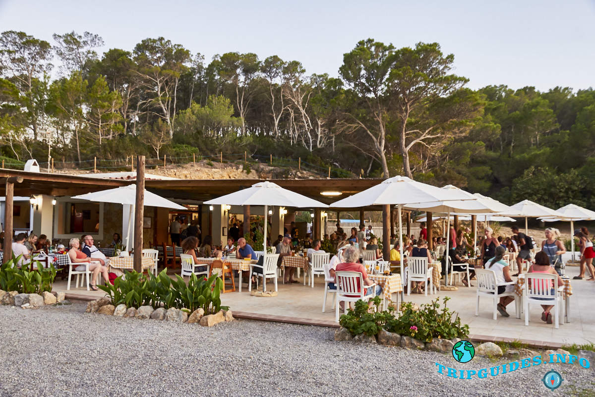 Ресторан на берегу пляжа