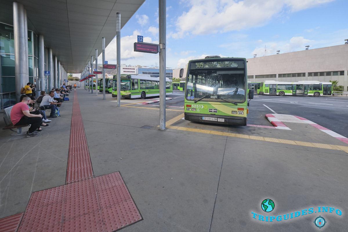 Автовокзал в Санта-Крус-де-Тенерифе - первый этаж