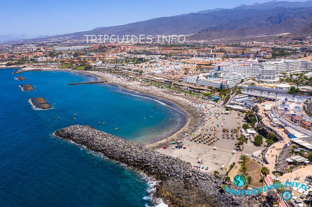 Курорт Коста Адехе на Тенерифе, Канарские острова, Испания
