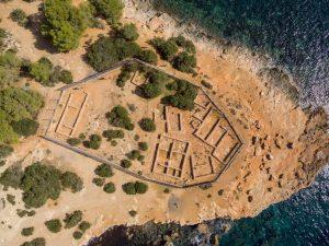 Древние руины Са Калета на Ибице