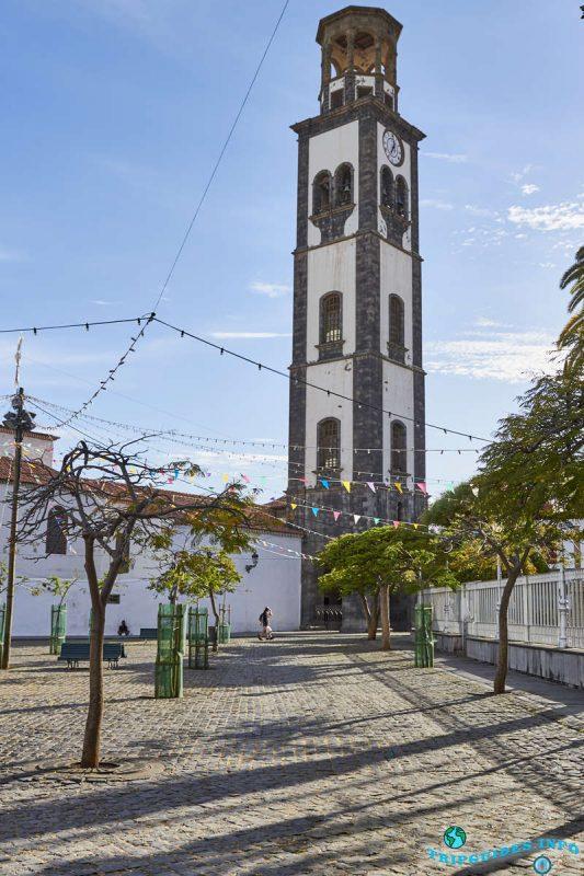 Церковь непорочного зачатия в Санта-Крус-де-Тенерифе