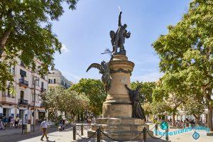 Площадь Vara de Rey - Ибица, Балеарские острова, Испания