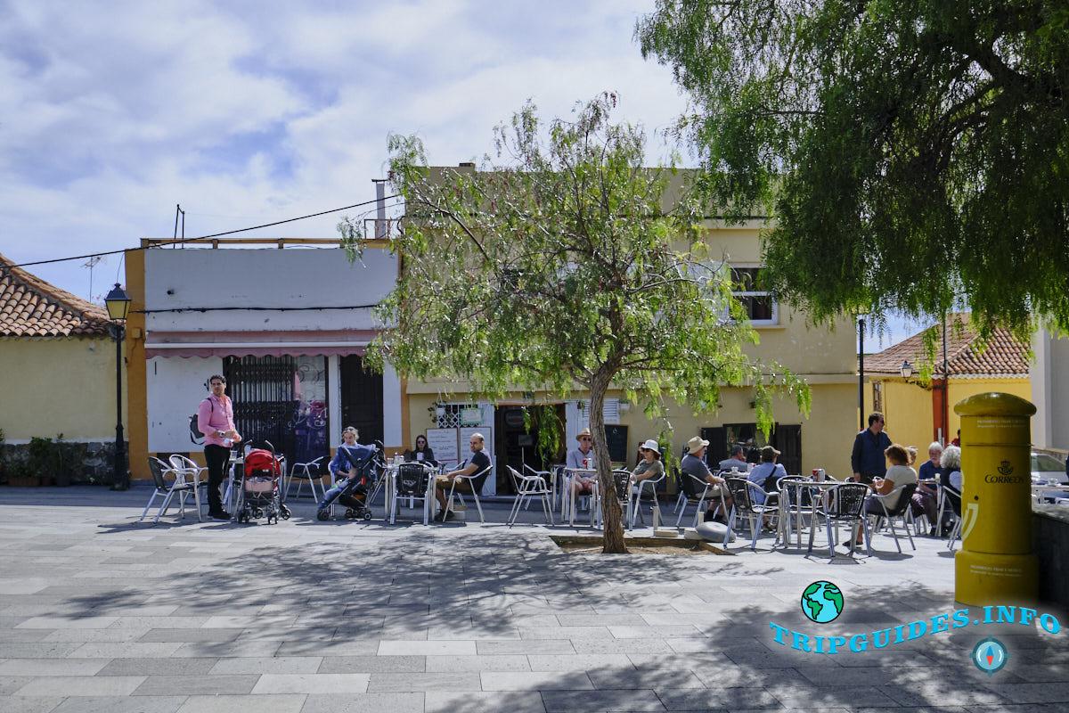 Ресторан Fuente Hermano Pedro в Вилафлор - Тенерифе, Канарские острова, Испания.