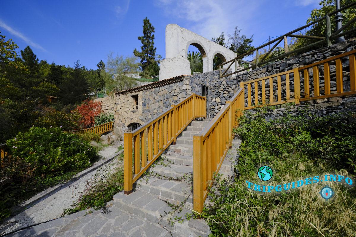 Водяная мельница в Вилафлор - Тенерифе, Канарские острова. Испания.