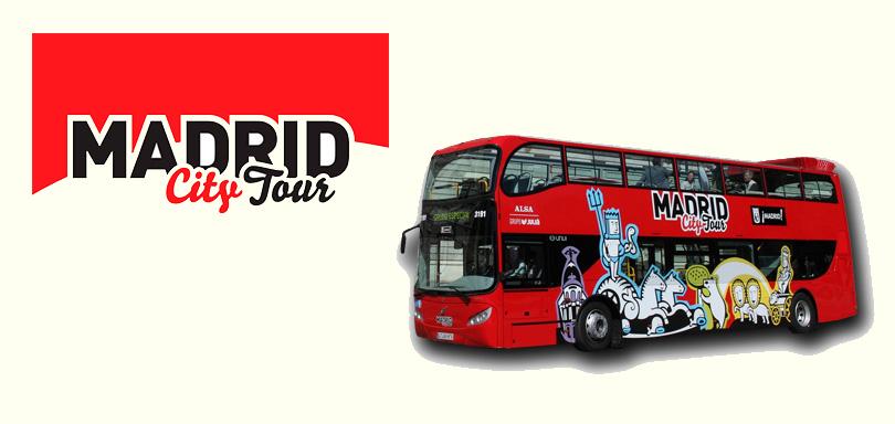 Madrid City Tour - единственный официальный туристический автобус