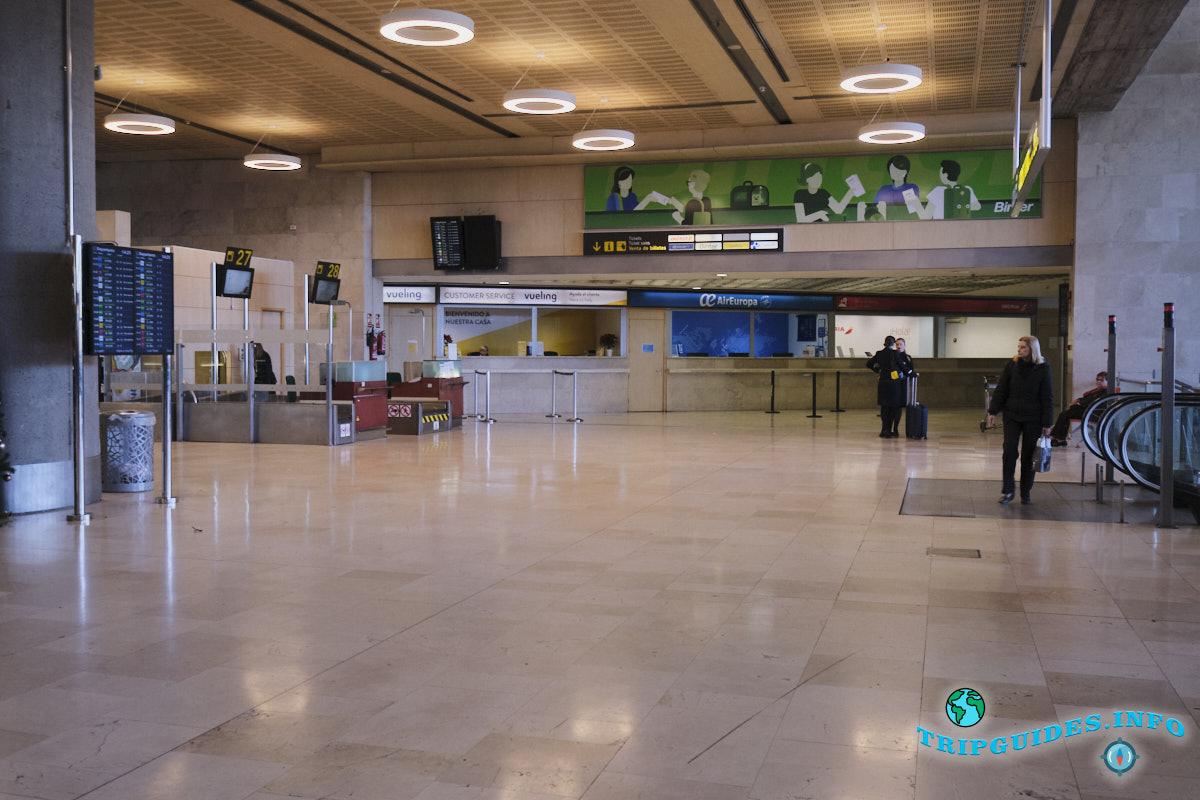 Аэропорт Тенерифе-Северный: офисы авиакомпаний