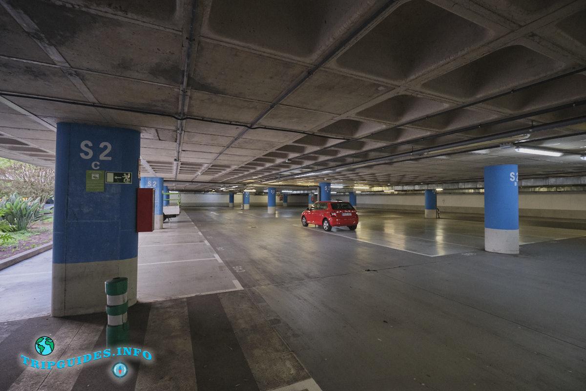 Аэропорт Тенерифе-Северный: паркинг
