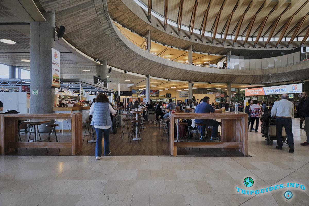 Аэропорт Тенерифе-Северный: зал регистрации