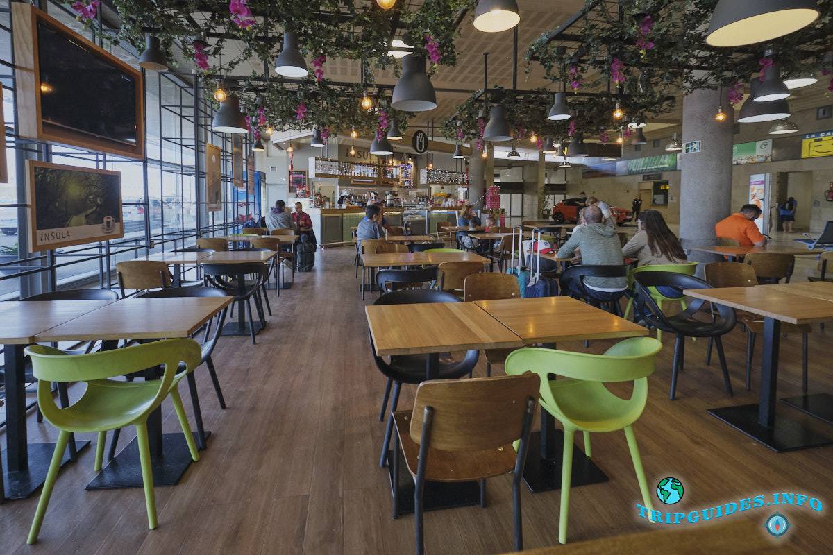 Аэропорт Тенерифе-Северный: кафе