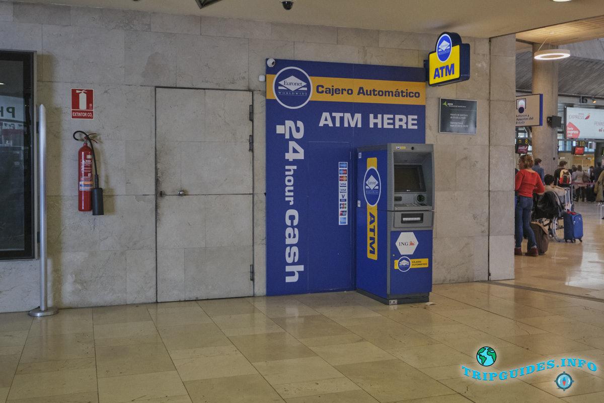 Аэропорт Тенерифе-Северный: банкомат АТМ