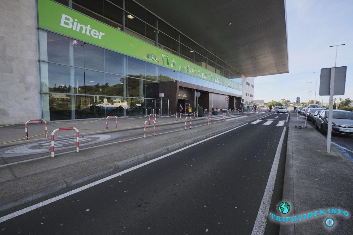 Аэропорт Тенерифе-Северный: Главный вход