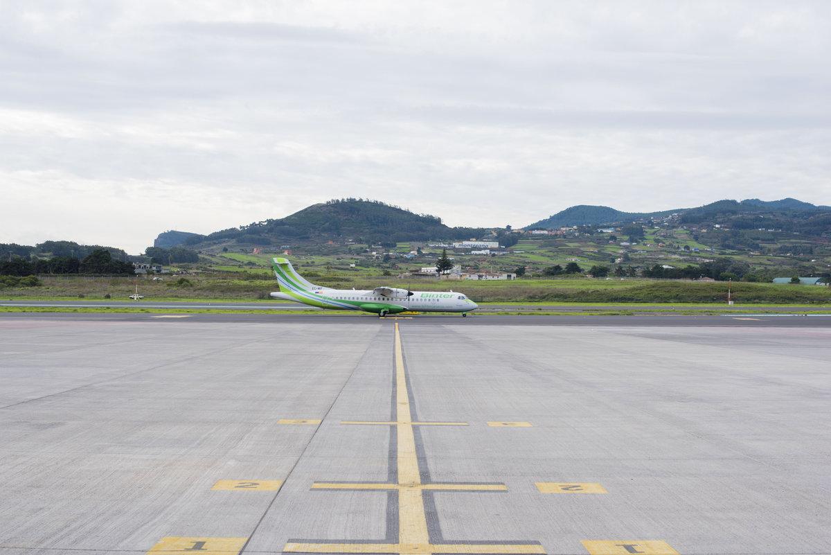 Аэропорт Тенерифе-Северный: взлетная полоса