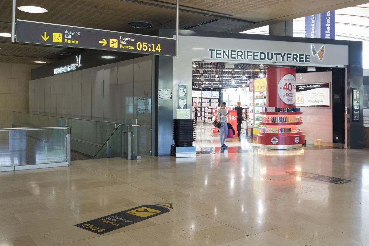 Аэропорт Тенерифе-Северный: дьюти-фри