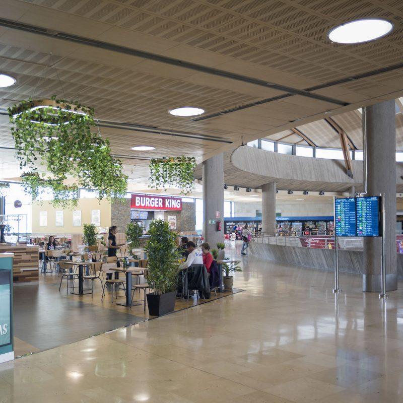 Аэропорт Тенерифе-Северный: онлайн-табло и кафе быстрого питания