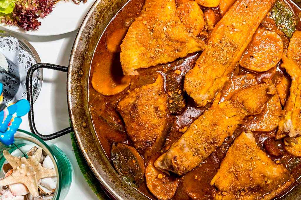блюдо - Borrida de ratjada на острове Ибица