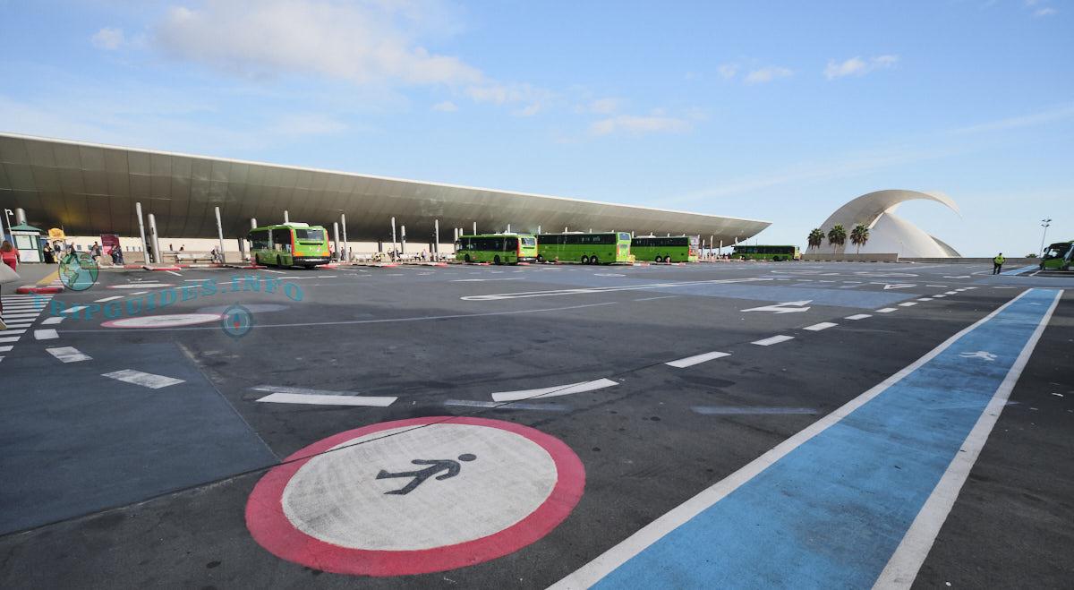Автовокзал в Санта-Крус-де-Тенерифе - второй этаж