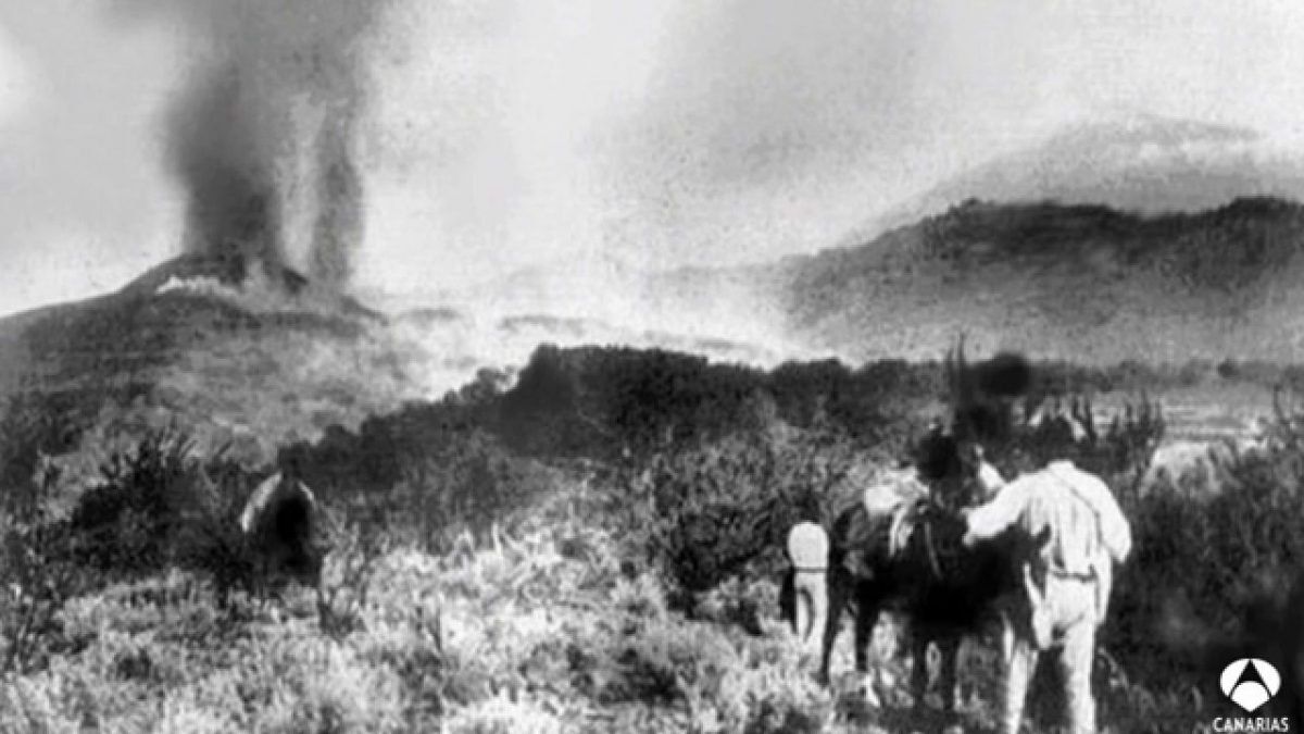 Извержение вулкана Чиньеро 1909 год