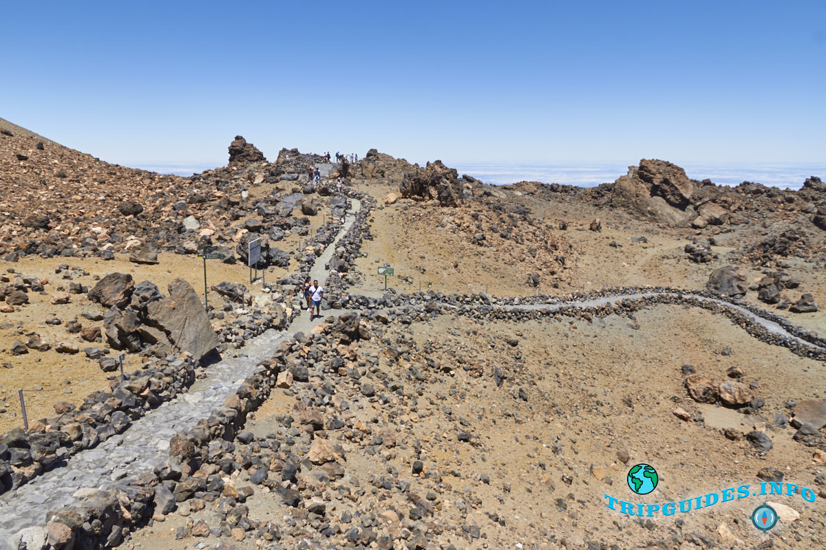on top of the teide volcano 15 - Вулкан Тейде