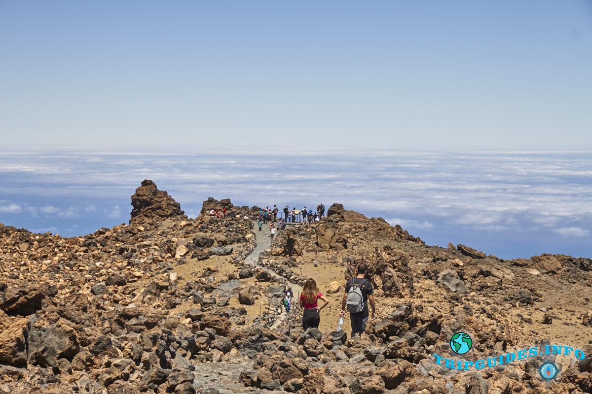 on top of the teide volcano 16 - Вулкан Тейде
