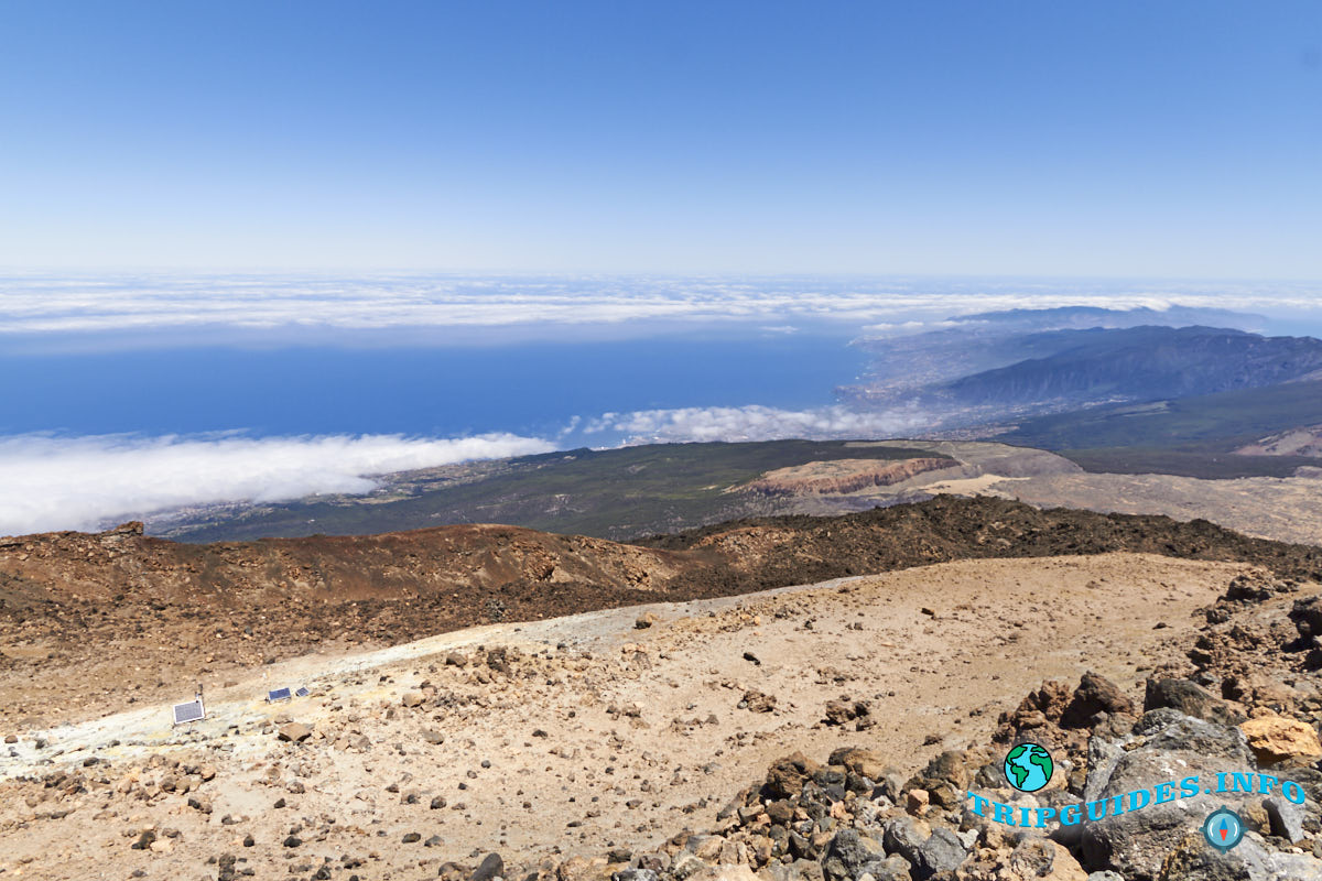on top of the teide volcano 17 - Вулкан Тейде