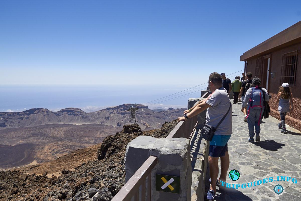 На вершине вулкана Тейде - Тенерифе