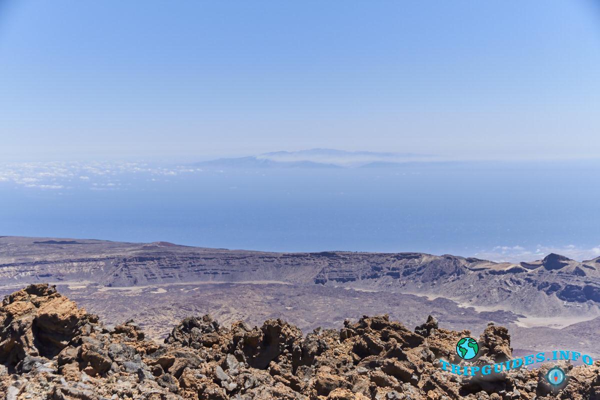 on top of the teide volcano 20 - Вулкан Тейде