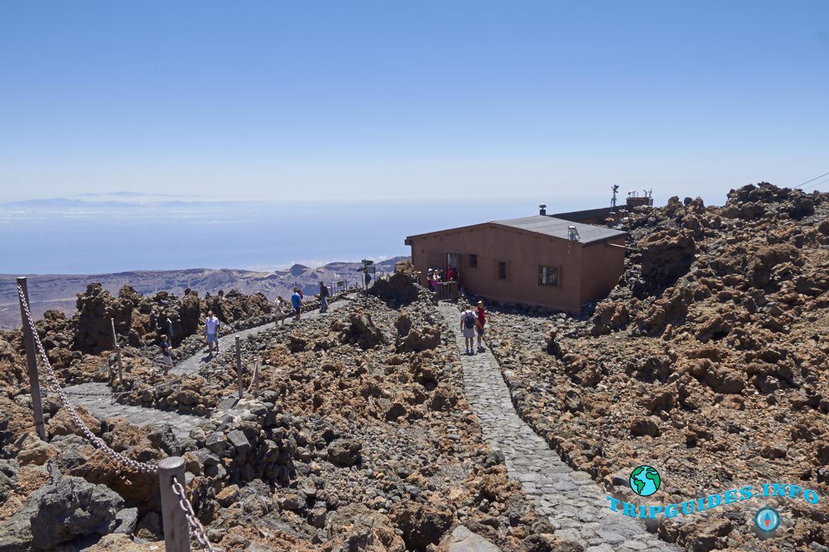 Высота 3555 метров над уровнем моря