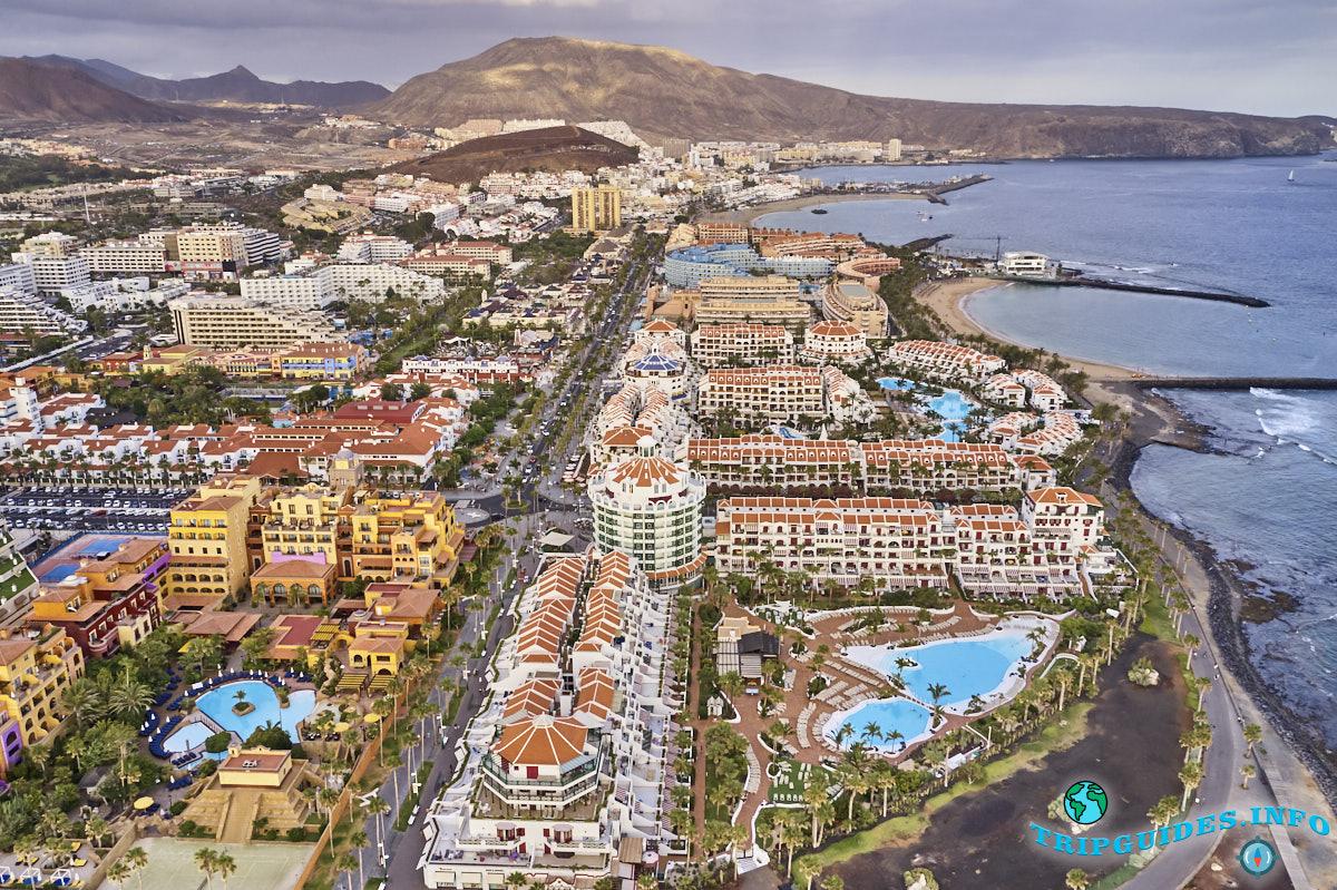 Курорт Плайя-де-Лас-Америкас на Тенерифе, Канарские острова, Испания