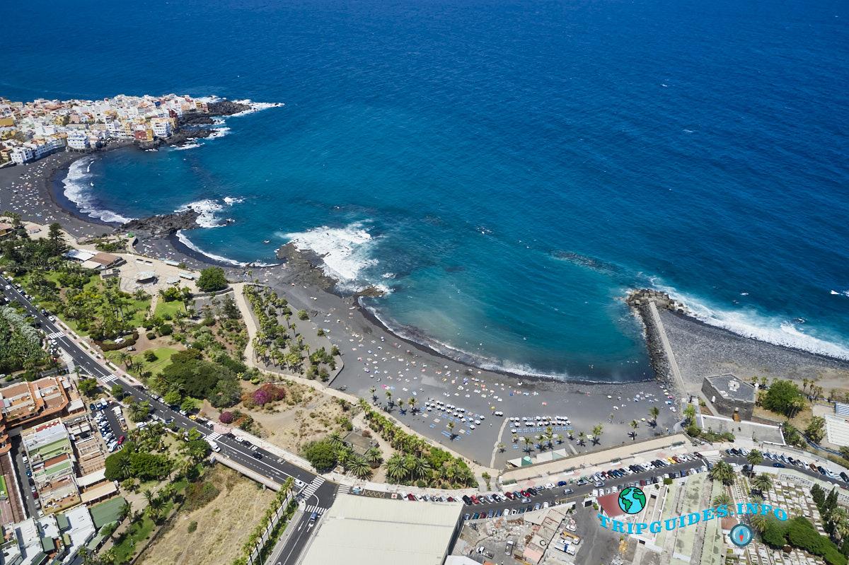 Пляжи Пуэрто-де-Ла-Крус - Тенерифе, Канарские острова, Испания