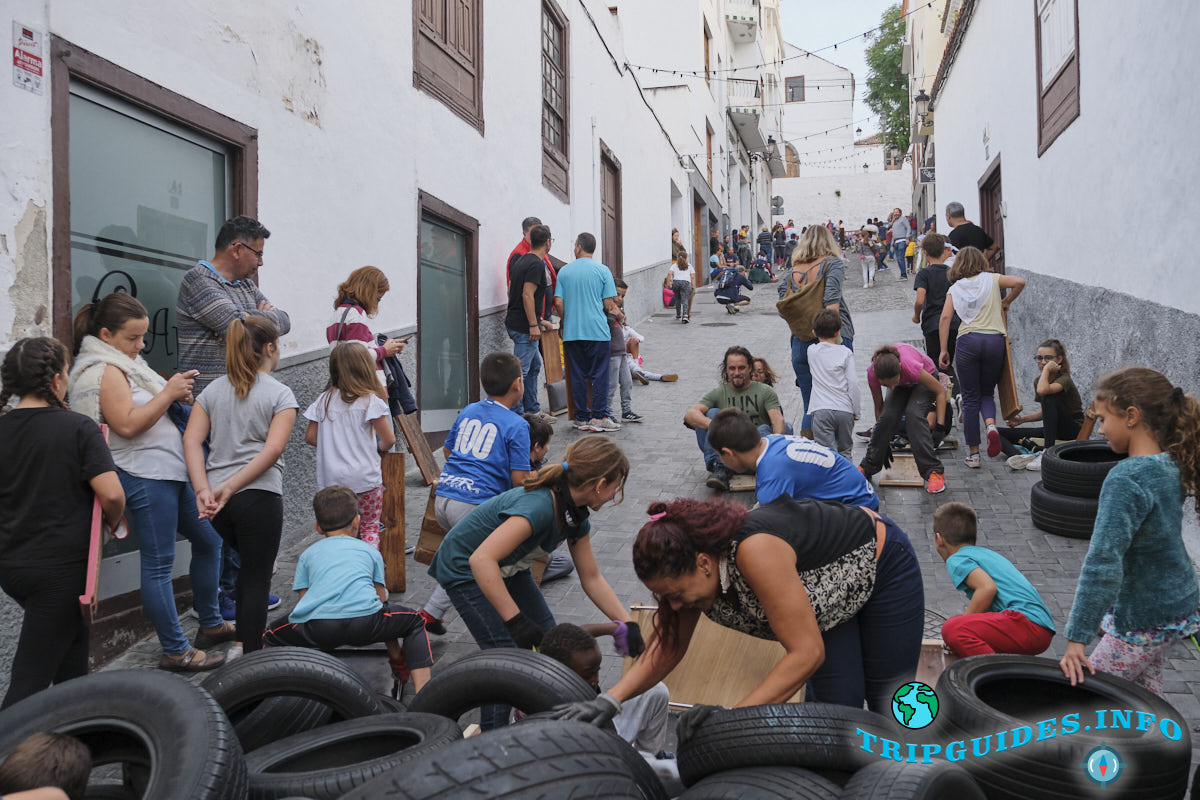 Праздник Сан Андрес в Икод-де-лос-Винос - Тенерифе 20