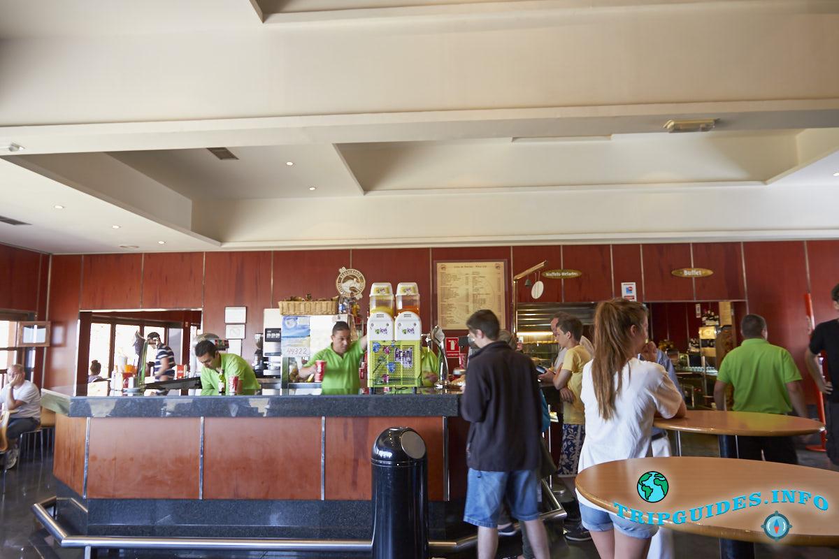 Кафе на станции и цены