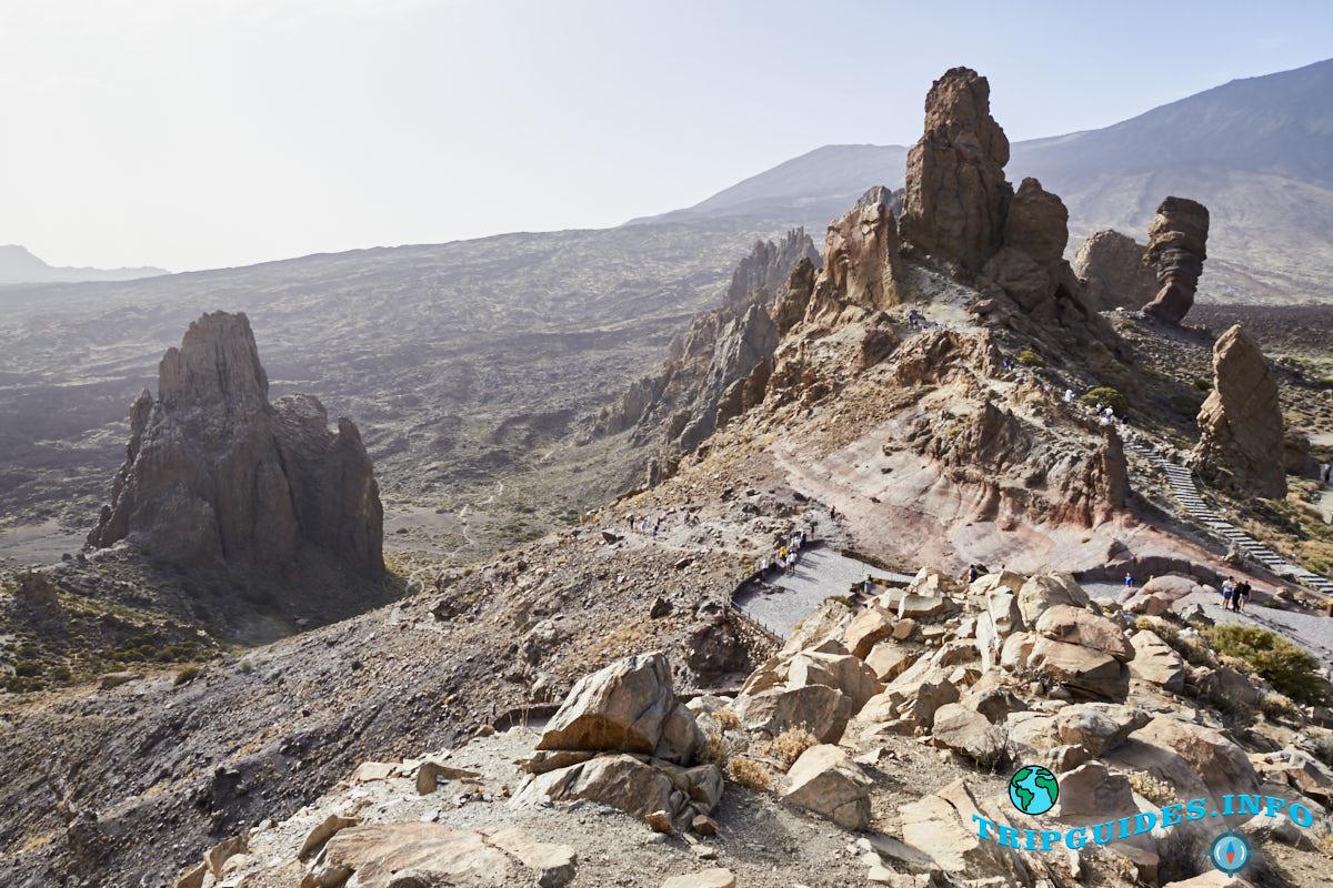 Скалы Гарсии в Национальном парке Тейде - Тенерифе