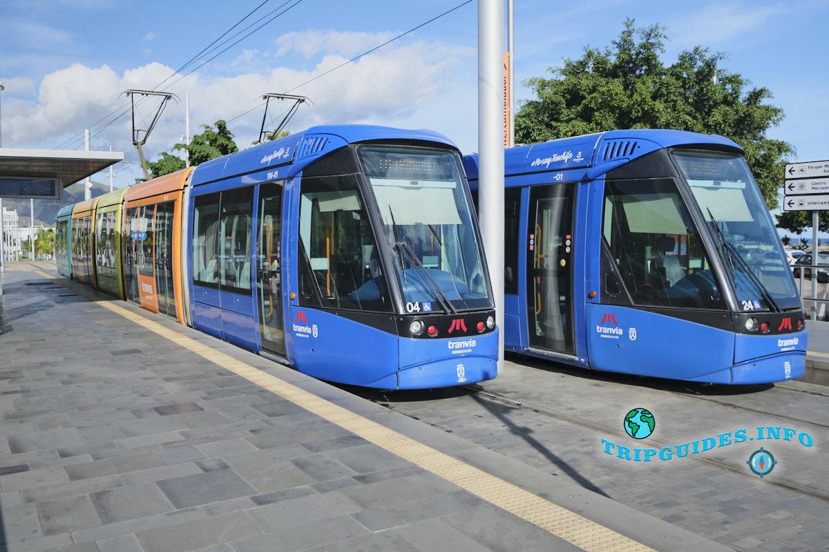 Трамваи в Санта-Крус-де-Тенерифе