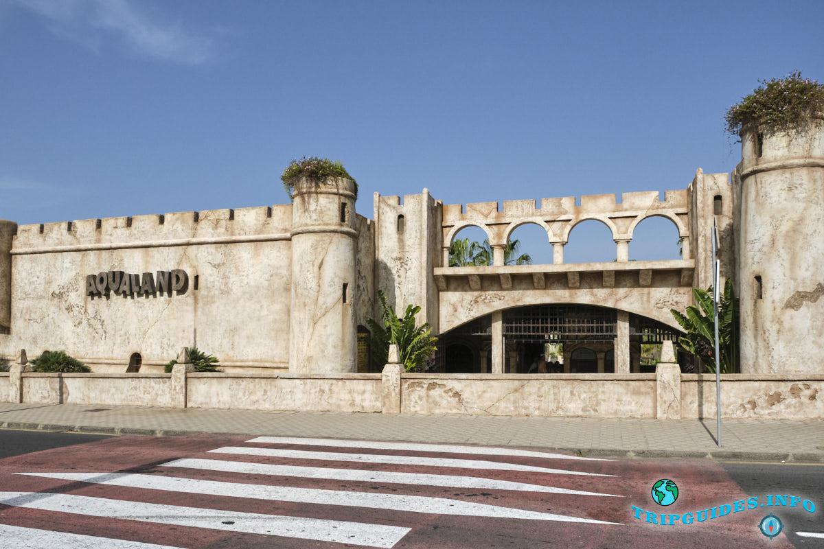Аквапарк Aqualand Costa Adeje