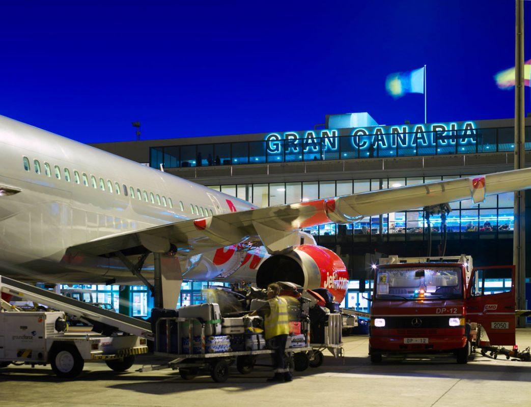 Аэропорт на Гран-Канарии