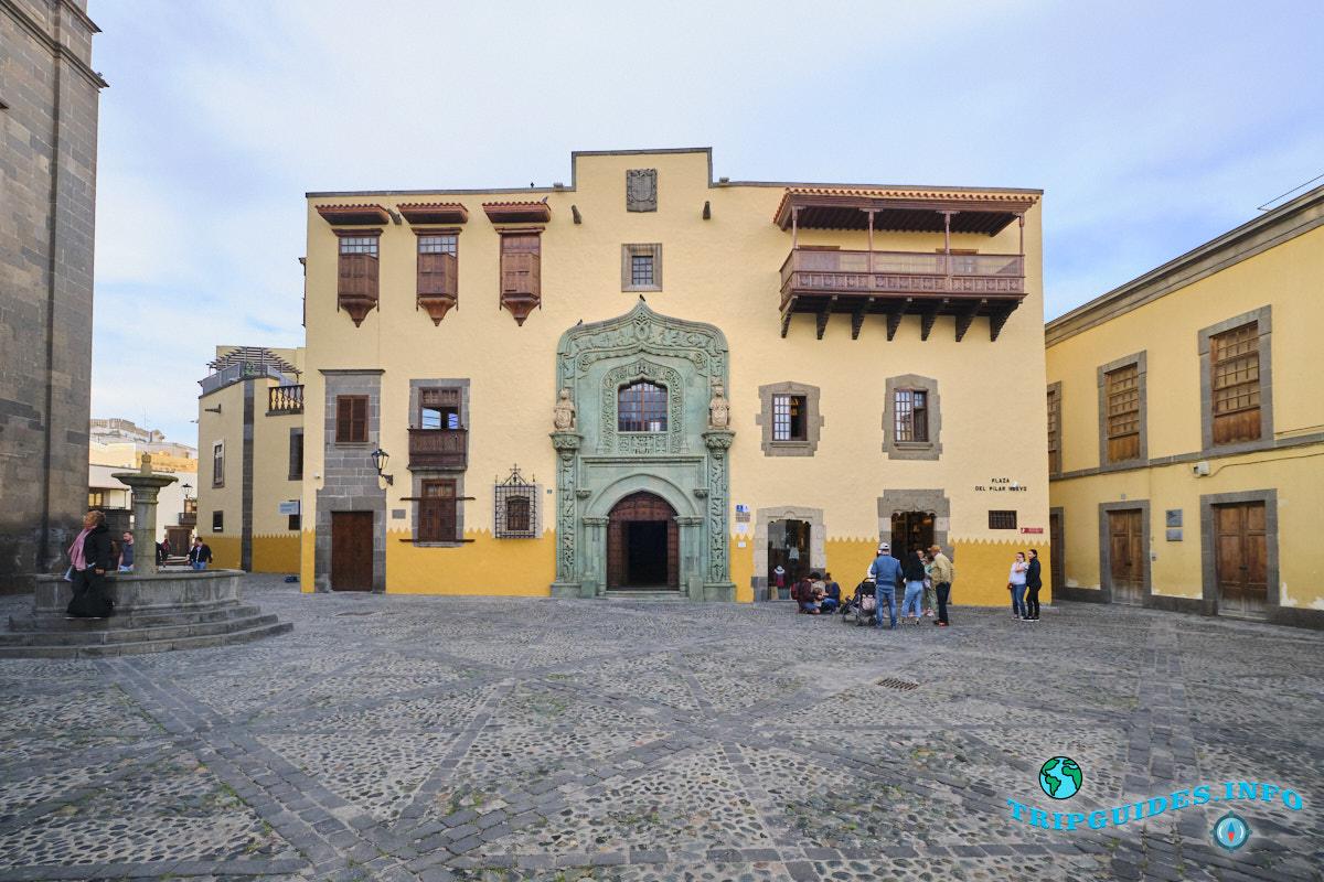 Дом Христофора Колумба на Гран-Канарии